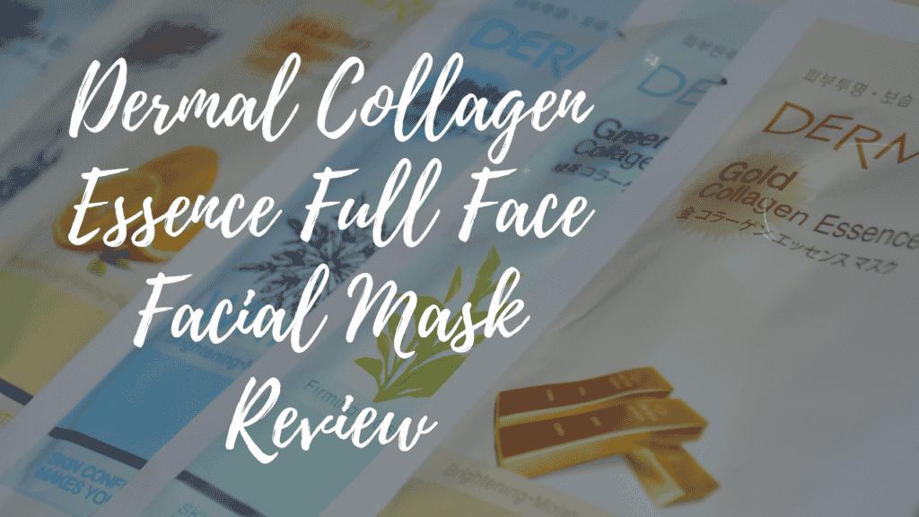 Dermal Collagen Essence Full Face Facial Mask Review